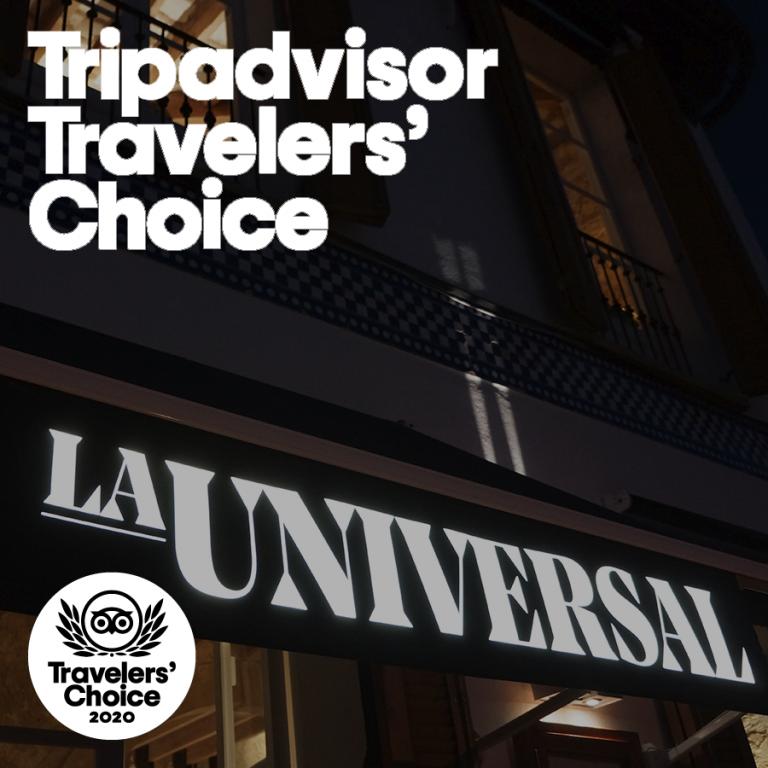 La Universal Andratx, Traveler's Choice 2020